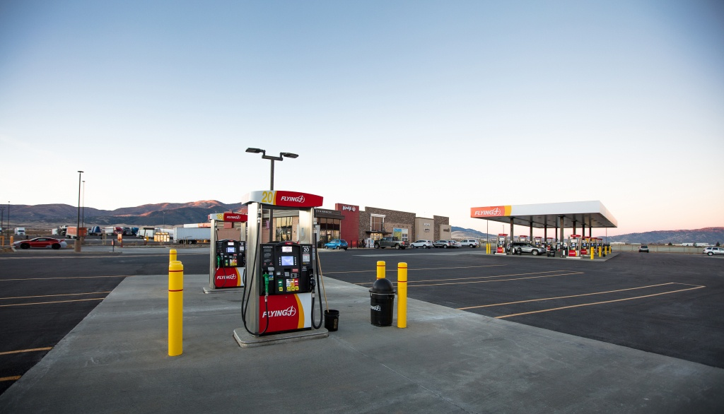 New Pilot Flying J Travel Center Opens In Tehachapi | Los Angeles - Flying J California Map