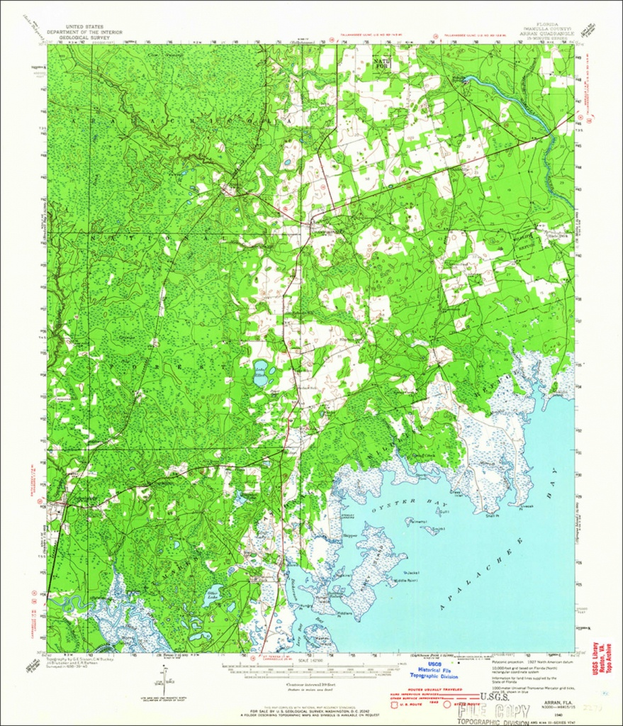New Sunshine State Maps Add U.s. Forest Service Data - South Florida Topographic Map