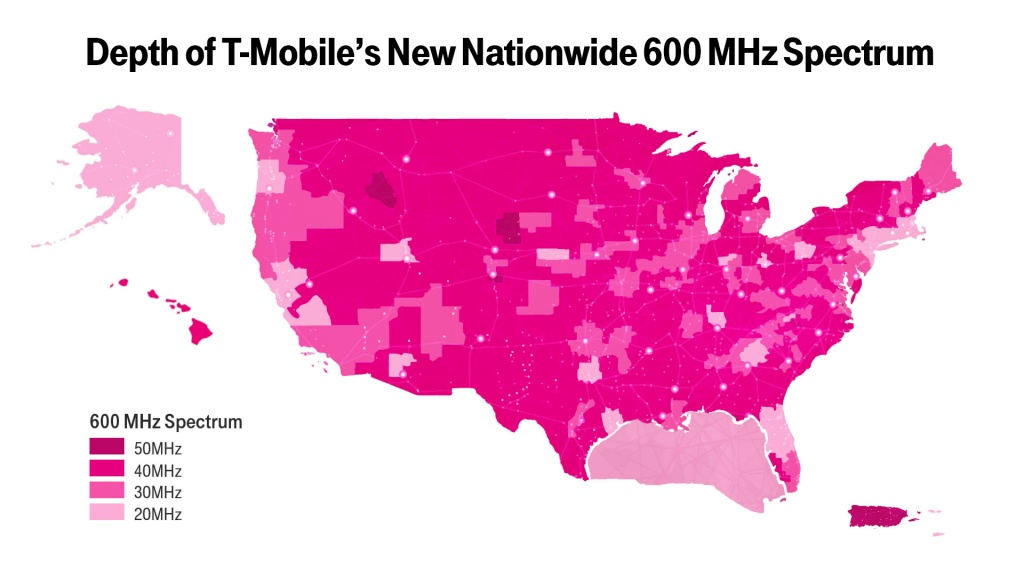 New T-Mobile Upgrade May Boost Your Coverage—If You Have The Right - Verizon Wireless Texas Coverage Map