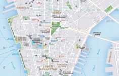 New York Subway Map Pdf Fresh Download Street Manhattan Ny And Of   Printable Map Of Manhattan Nyc
