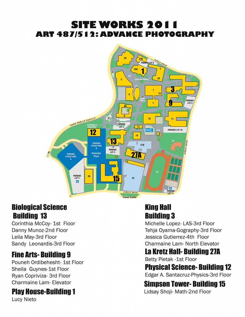 News & Events | Cal State La - California Institute Of The Arts Campus Map