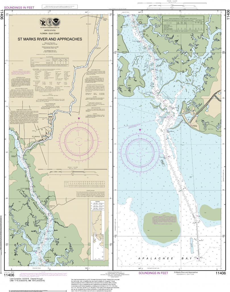 Noaa Nautical Charts In  Format - Florida Marine Maps