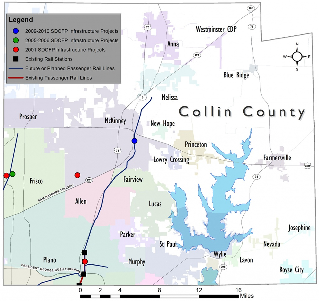 North Central Texas Council Of Governments - Collin County - Collin County Texas Map