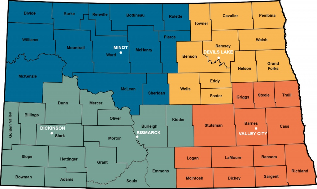 North Dakota Contacts | Usda Rural Development - Usda Rural Development Map Texas