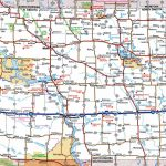 North Dakota Road Map   Printable Map Of North Dakota