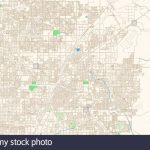 North Las Vegas Nevada Printable Map Excerpt. This Vector Streetmap   Printable Las Vegas Street Maps