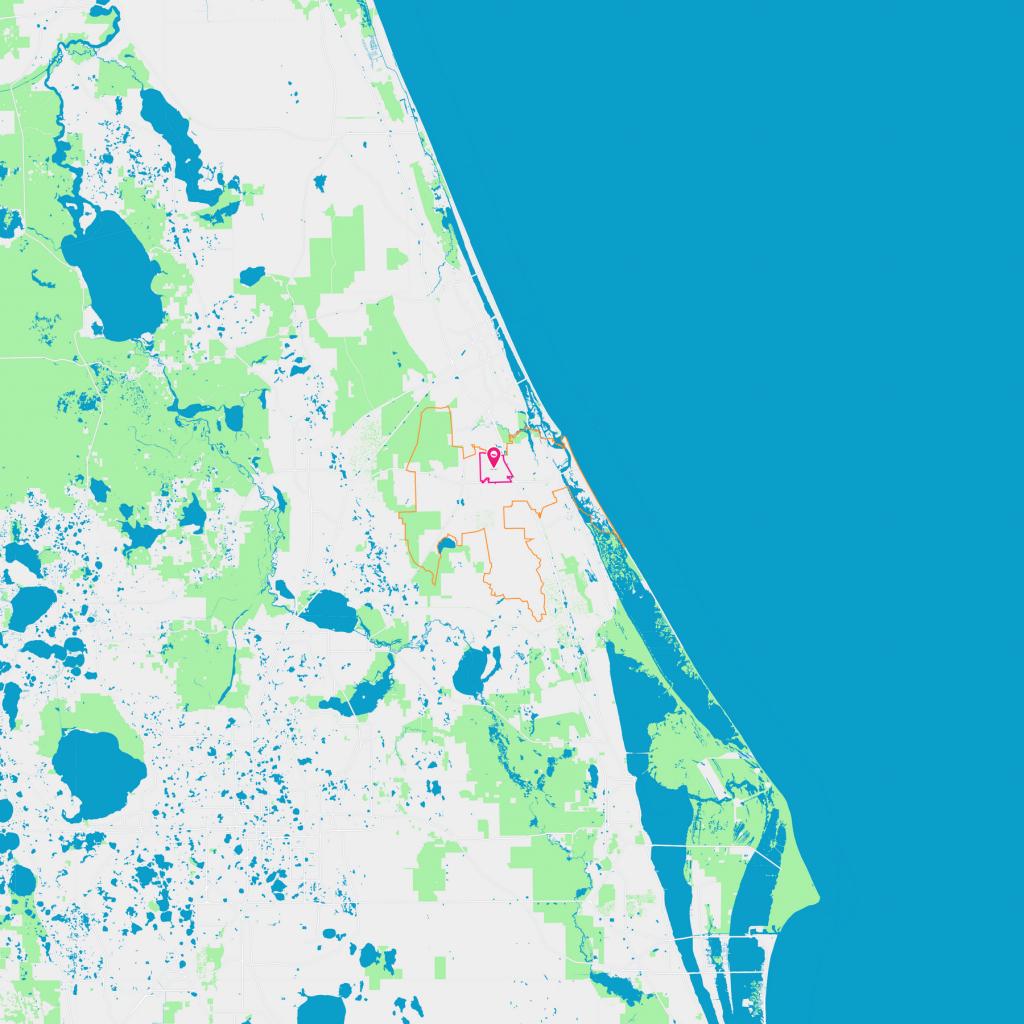 North Village Neighborhood Guide - New Smyrna Beach, Fl | Trulia - Smyrna Beach Florida Map