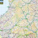 North Wales Offline Map, Including Llandudno, Conwy, Anglesey   Printable Street Map Of Llandudno