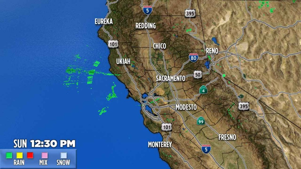 Northern California | Abc7News - Northern California Radar Map