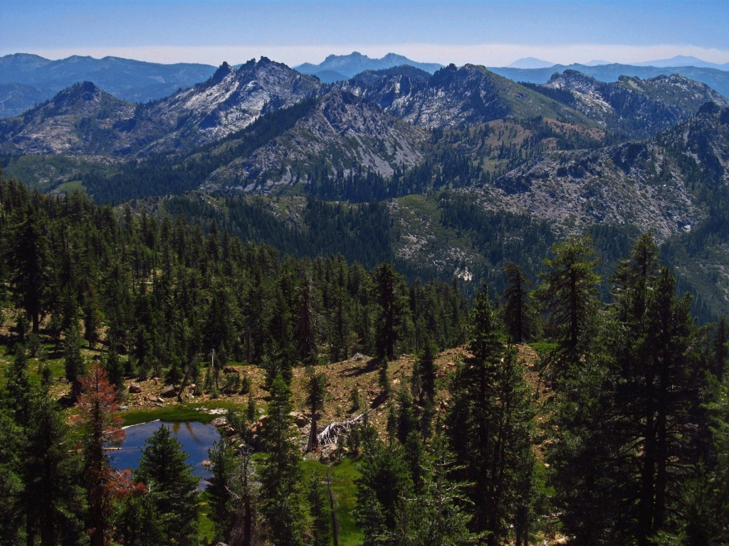 Northern California - Pacific Crest Trail Association - Northern California Hiking Map