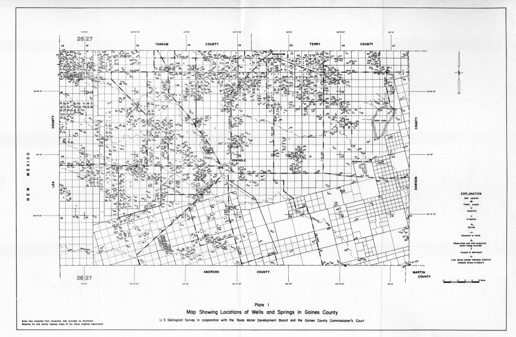 Numbered Report 15 | Texas Water Development Board - Texas Survey Maps