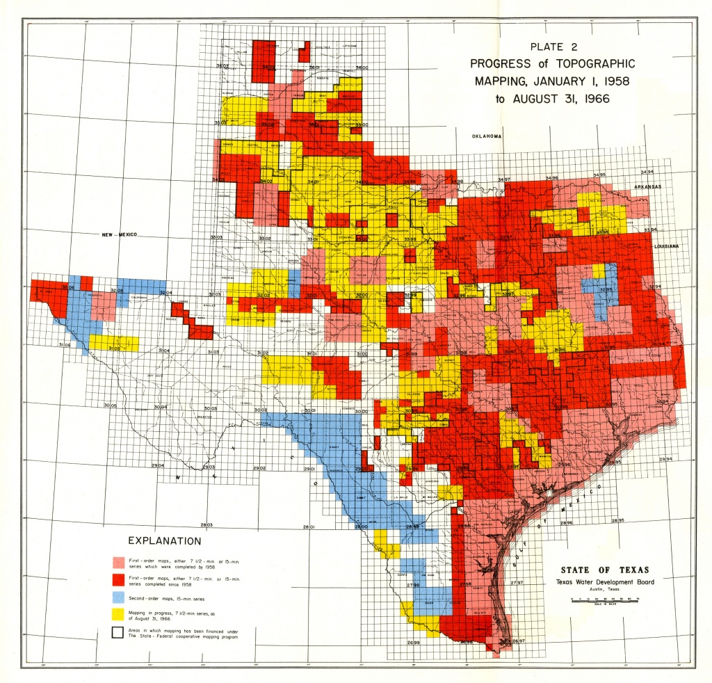 Numbered Report 40 | Texas Water Development Board - Fema Flood Maps Texas