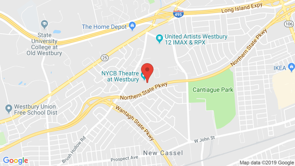 Nycb Theatre At Westbury In Westbury, Ny - Concerts, Tickets, Map - Daughtry Texas Google Maps