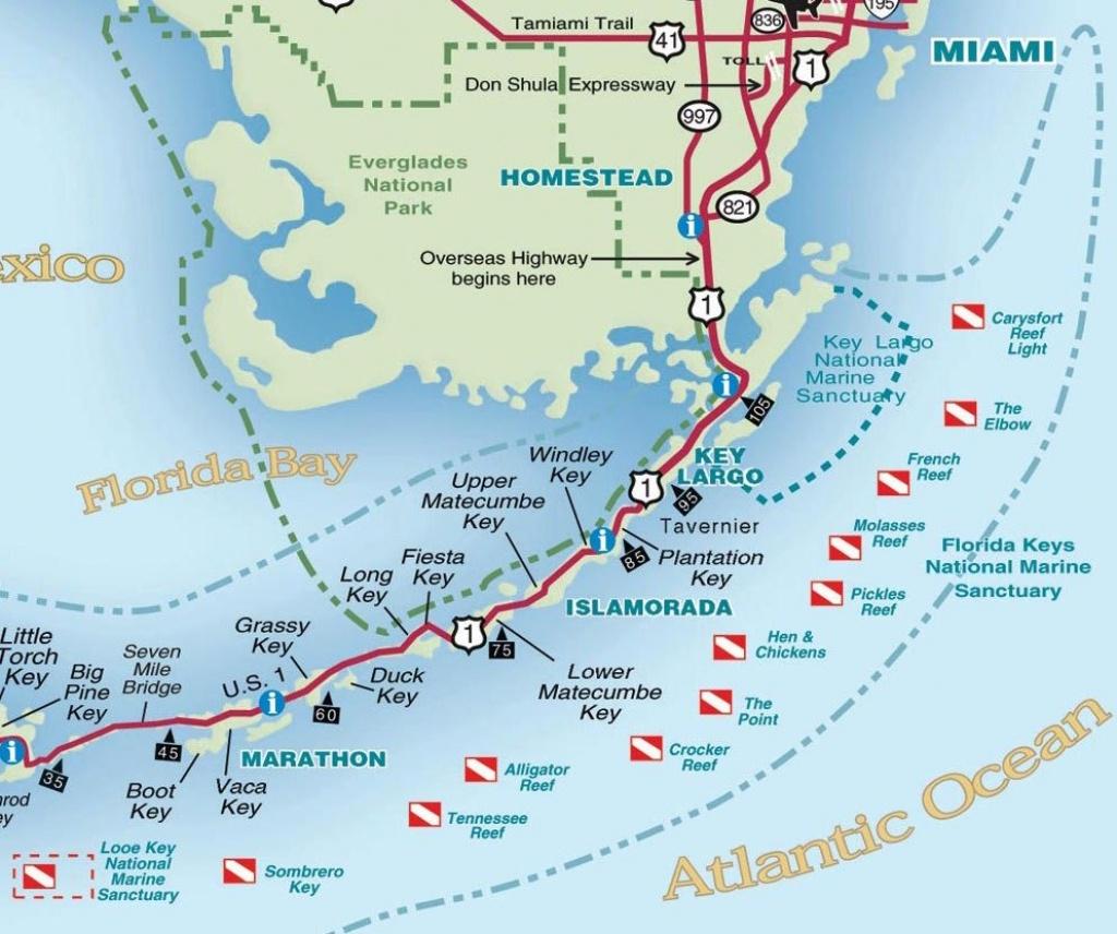 Ocean Acidification May Be Impacting Florida Keys Reefs – Lemonsea - Florida Reef Map