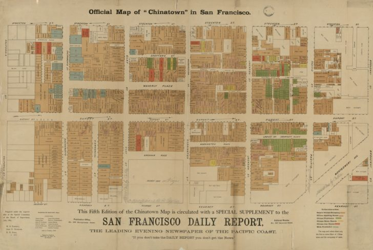 Printable Map Of Chinatown San Francisco