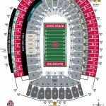 Ohio Stadium Seating Chart – Ohio State Buckeyes   University Of Texas Stadium Seating Map