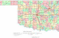 Oklahoma Printable Map   Printable State Maps