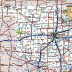 Oklahoma Road Map   Map Of North Texas And Oklahoma