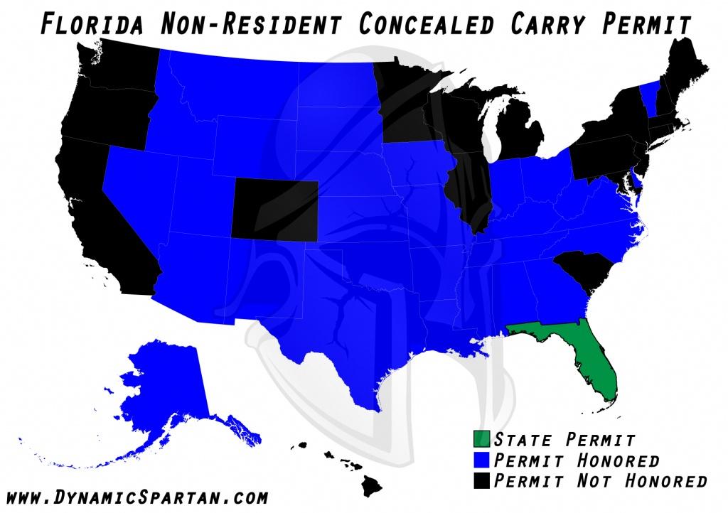 Oklahoma State Bureau Of Investigation Reciprocity Within Colorado - Florida Non Resident Ccw Reciprocity Map