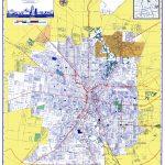 Old City Map   San Antonio Texas   Ashburn 1950   Detailed Map Of San Antonio Texas