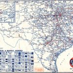 Old Highway Maps Of Texas   North Texas Highway Map