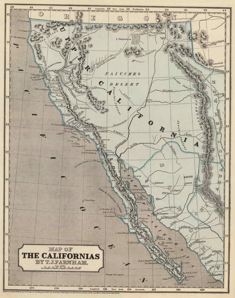 Old Historical City, County And State Maps Of California - Historical Map Of California
