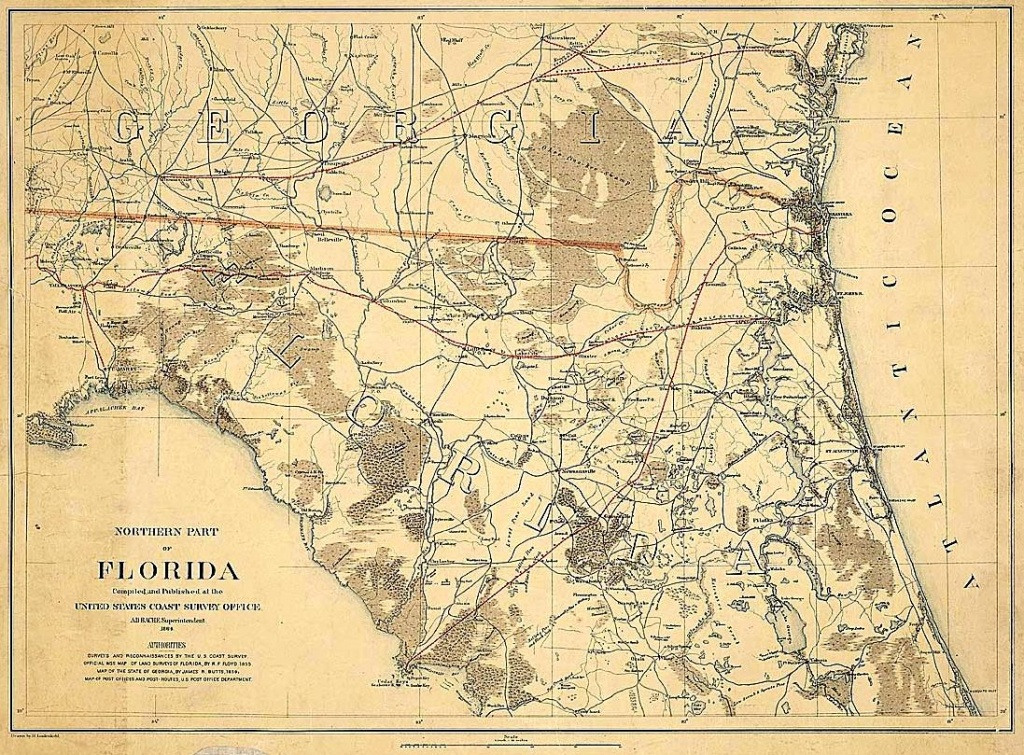 Old King's Road, Florida - Old Florida Road Maps