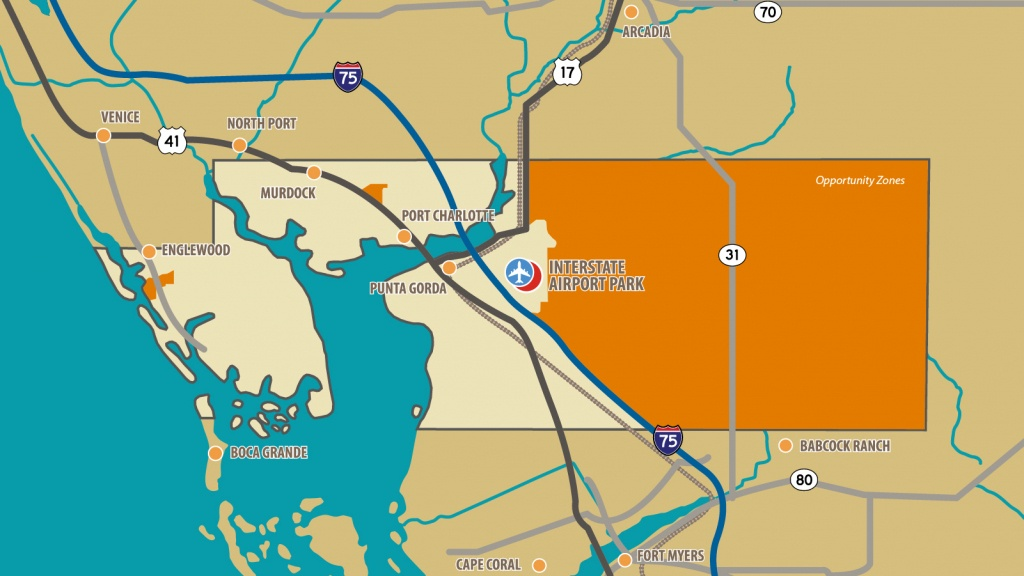 Opportunity Zones | Charlotte County Florida Economic Development - Florida Airparks Map