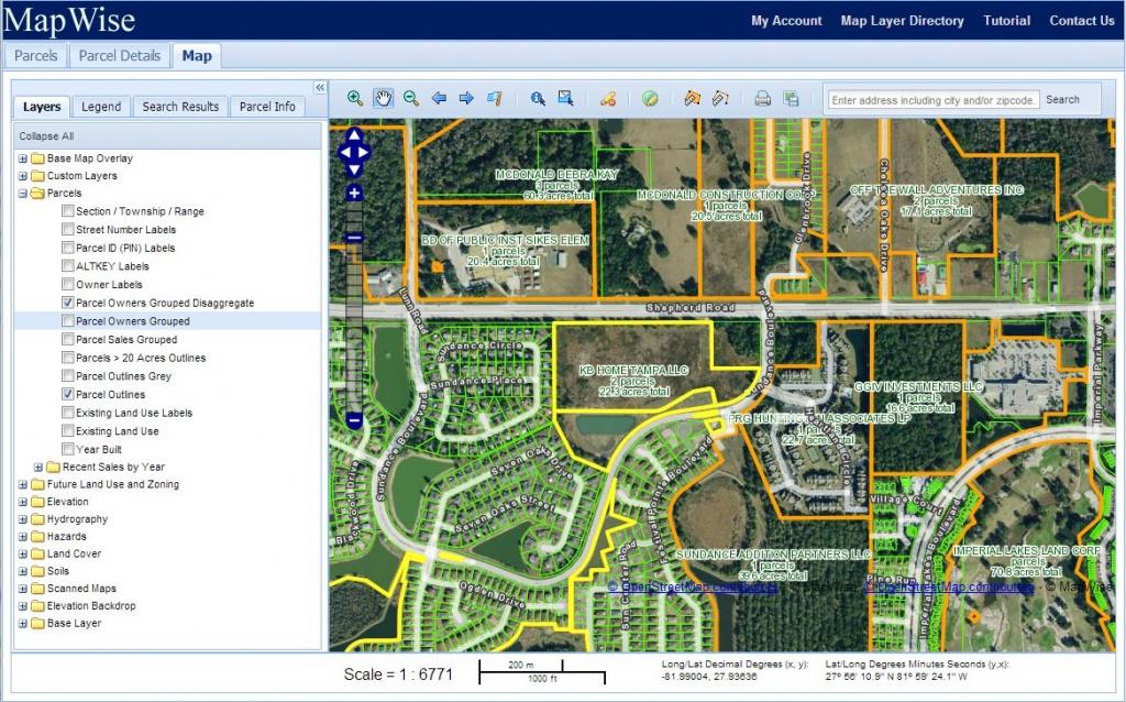 Orange County Property Appraiser Map   Map 2018 - Orange County Florida Parcel Map