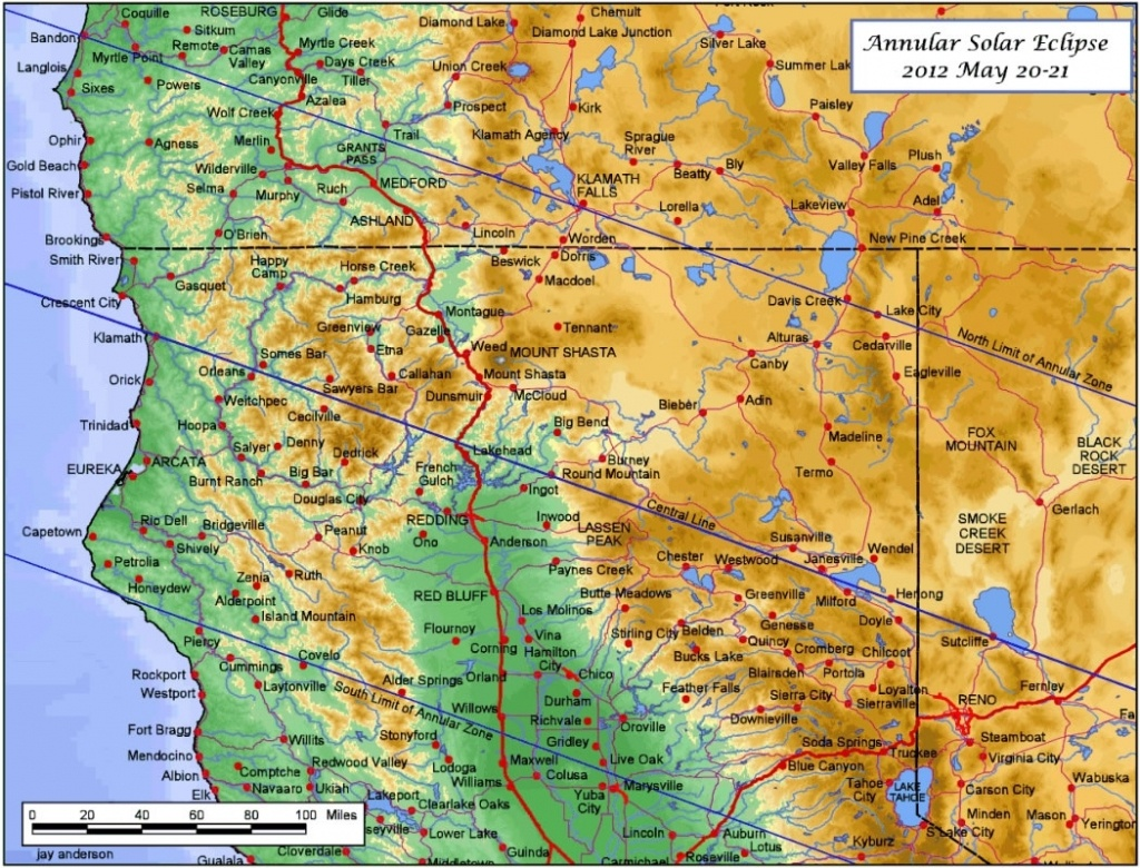Oregon S California Map With Cities California Oregon Border Map - California Oregon Border Map