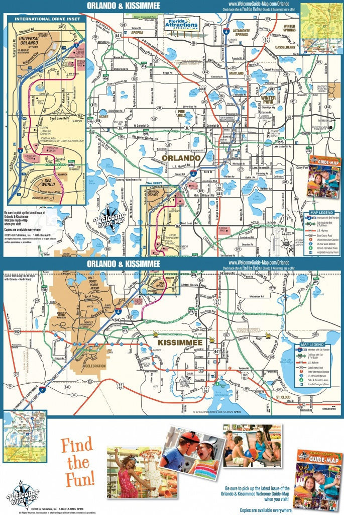 Orlando Maps | Florida, U.s. | Maps Of Orlando - Map Of Orlando Florida Area