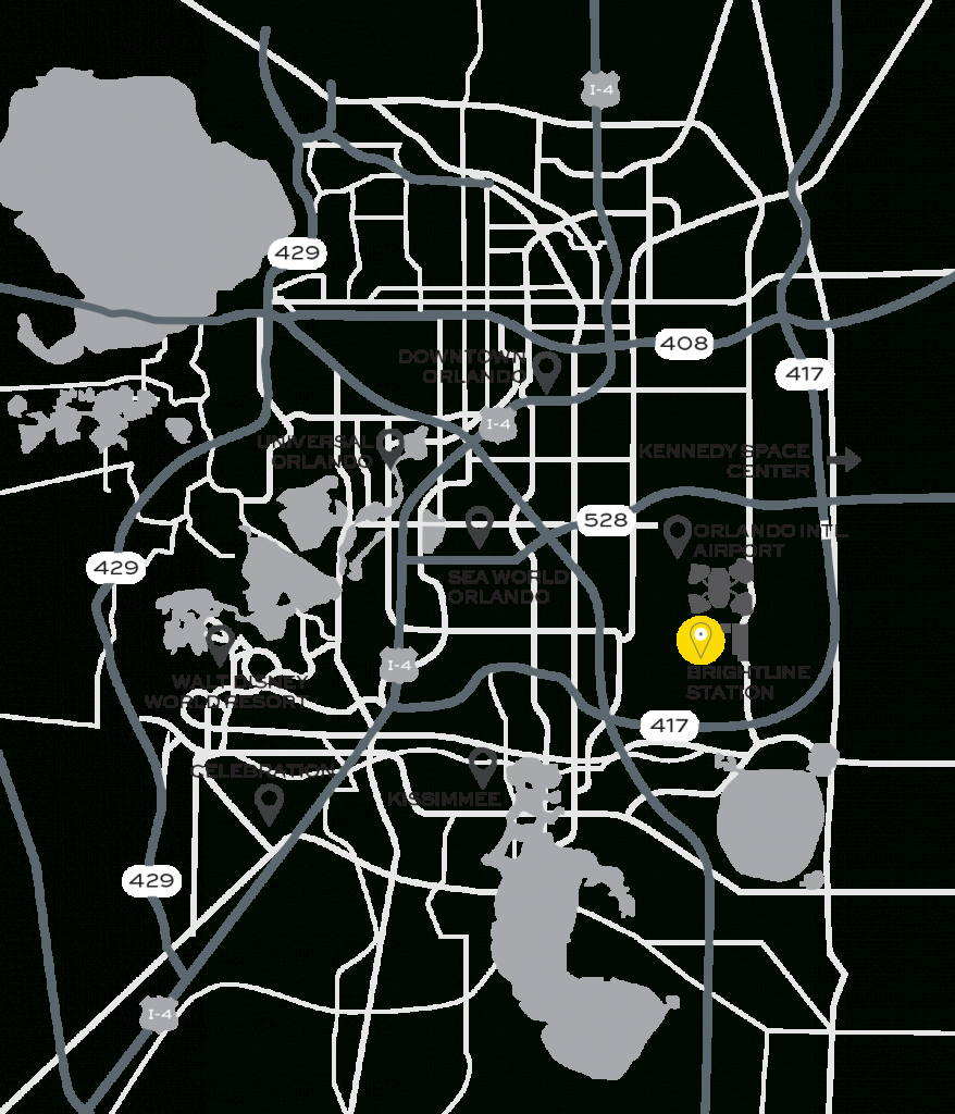 Orlando Train Station | Brightline - Florida Brightline Map