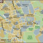 Oxford Maps   Top Tourist Attractions   Free, Printable City Street Map   Printable City Maps