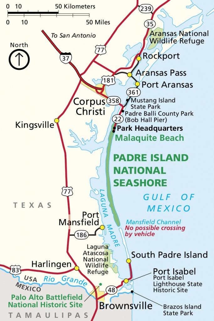 Padre Island Maps   Npmaps - Just Free Maps, Period. - Texas Padre Island Map