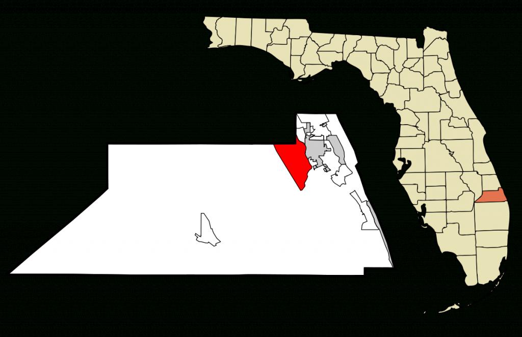 Palm City, Florida - Wikipedia - Palm City Florida Map