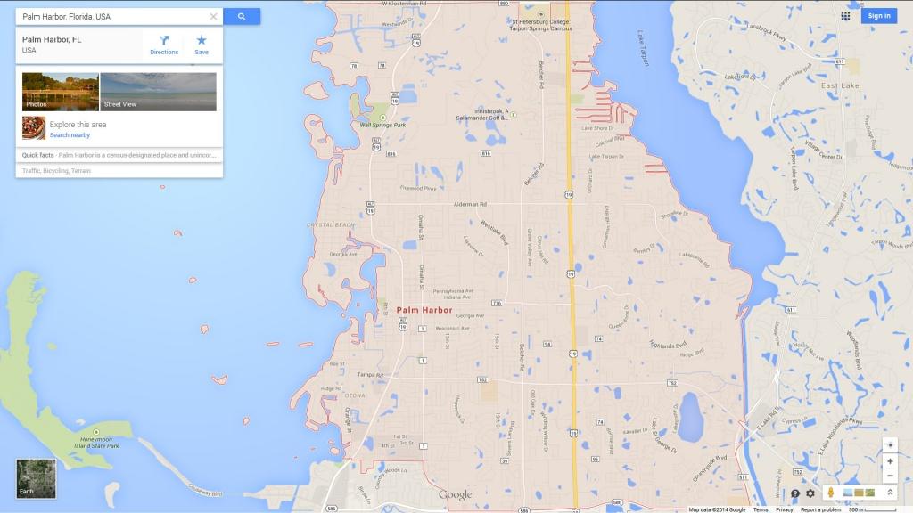 Palm Harbor Florida Map - City Map Of Palm Harbor Florida