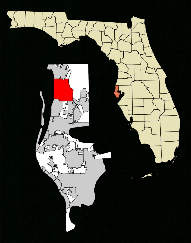 Palm Harbor, Florida - Wikipedia - City Map Of Palm Harbor Florida
