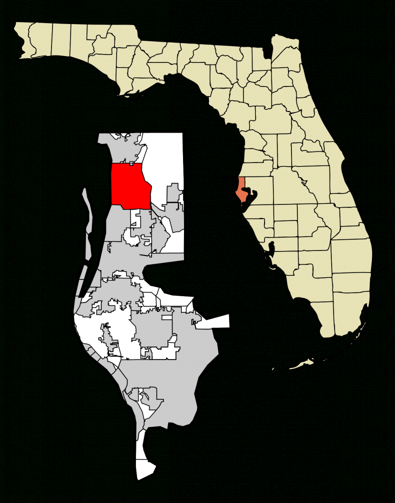 Palm Harbor, Florida - Wikipedia - Innisbrook Florida Map
