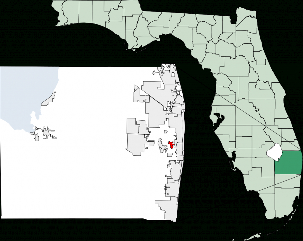 Palm Springs, Florida - Wikipedia - West Palm Beach California Map