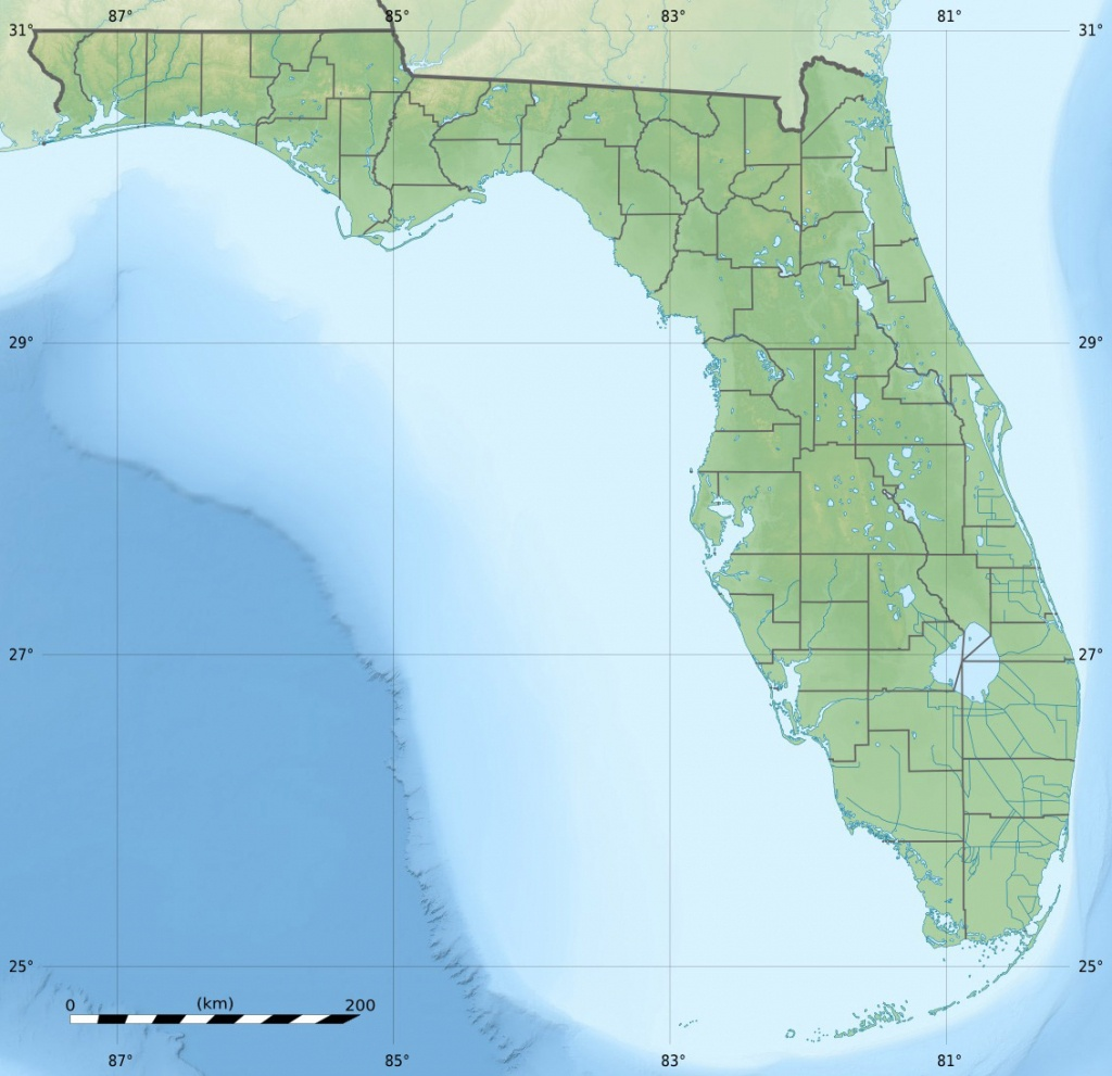 Palmetto Estuary Preserve - Wikipedia - Palmetto Florida Map
