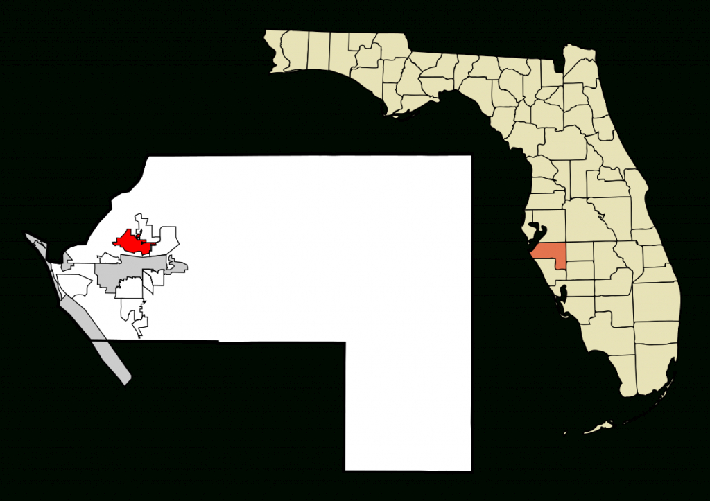 Palmetto, Florida - Wikipedia - Palmetto Florida Map