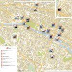 Paris Printable Tourist Map | Sygic Travel   Printable Travel Map