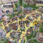 Park Map | Universal Studios Hollywood, This Is A Simplified Map   Universal Studios California Map