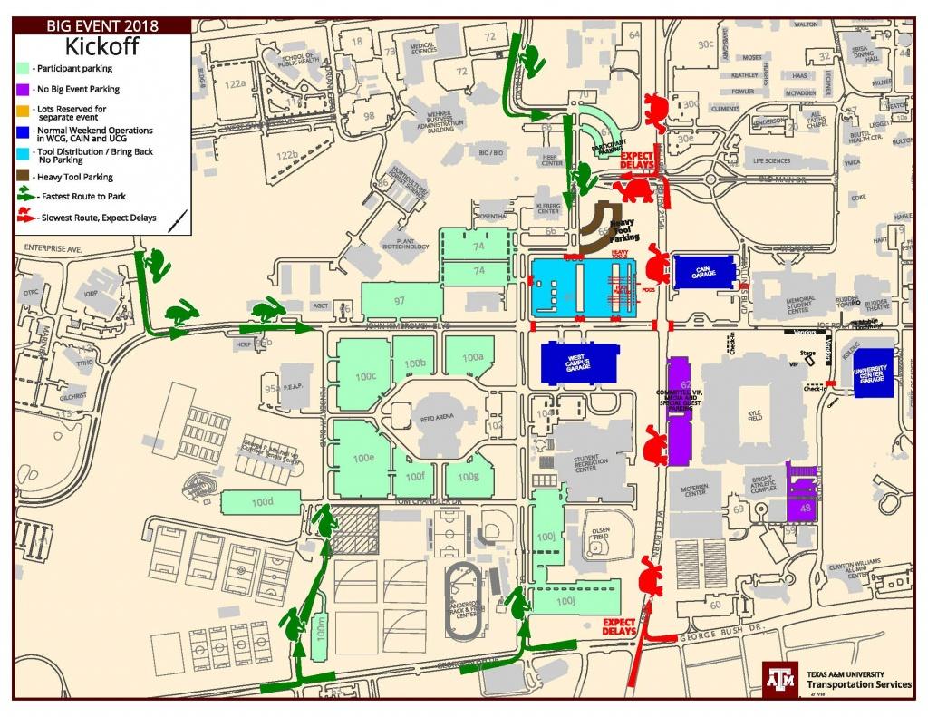 Parking Map Tamu | Dehazelmuis - Texas A&m Parking Map