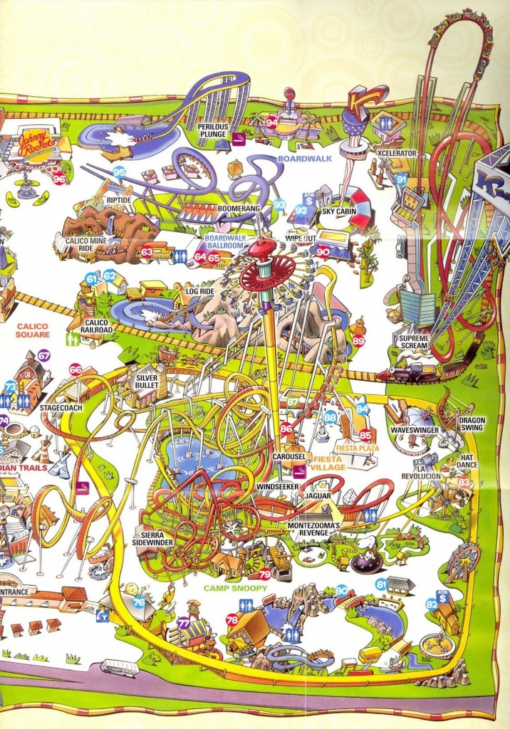 Part 77 Ageorgio - Knotts Berry Farm Map California