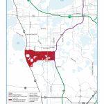 Pd&e Study   Lake/orange County Connector | Central Florida   Orange Lake Florida Map