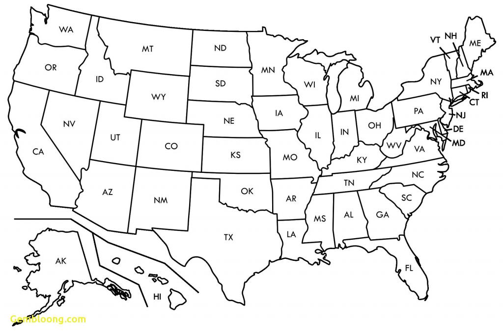 Pdf Printable Us States Map Best Of Us States Map Blank Pdf Best Map - Us Map Printable Pdf