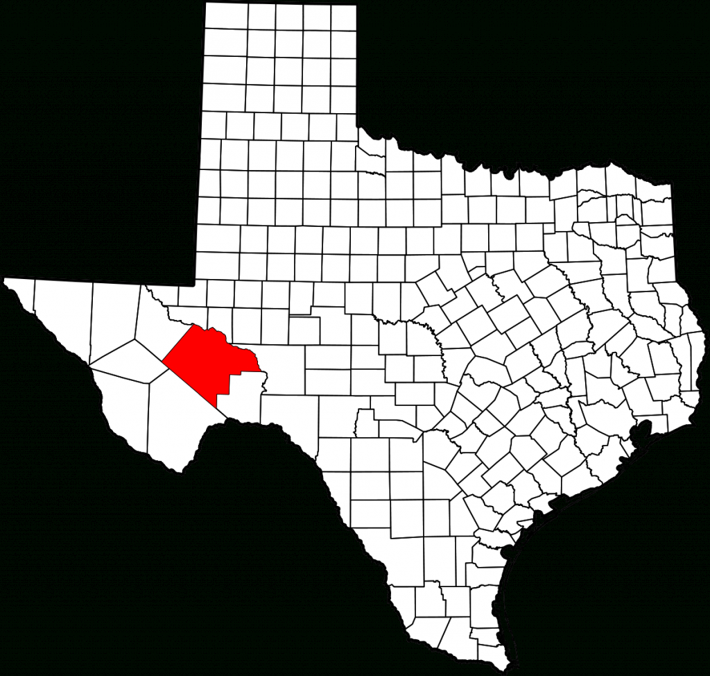 Pecos County, Texas - Wikipedia - Pecos Texas Map