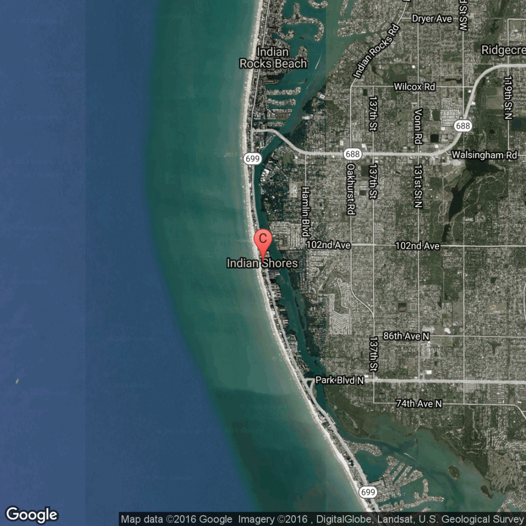 Pet-Friendly Hotels Near Indian Shores, Florida | Usa Today - Indian Beach Florida Map