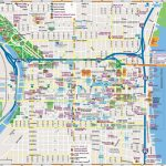 Philadelphia Downtown Map   Downtown Indianapolis Map Printable